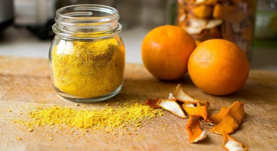 natural hair products like orange oil powder