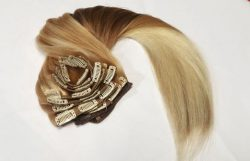 clipon hair extensions to help baldness and women
