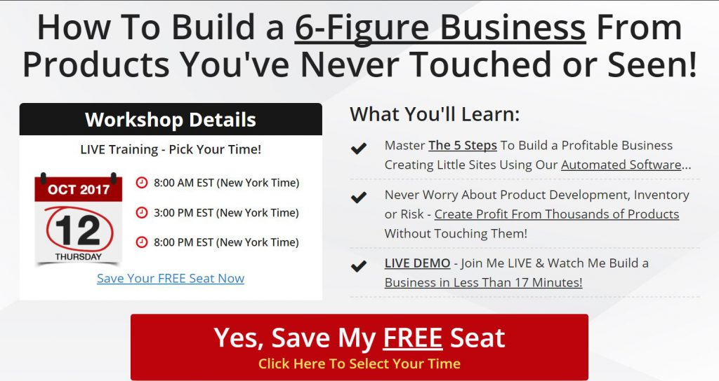 Fred Lam's How To Build A REAL Business In 5-Steps Review