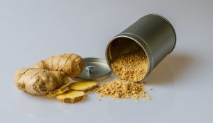 the benefits of using natural hair products such as ginger