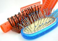 using a hair brush in your regimen