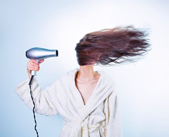 hand-held hair blow dryers