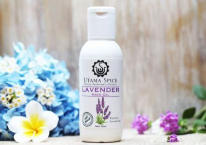 lavender hair oil utama spice review