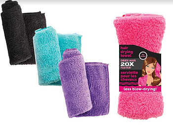 studio dry quick dry hair towel