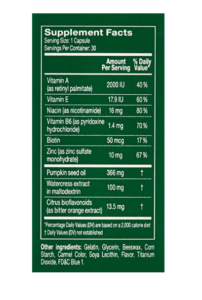 rene furterer vitalfan label ingredients