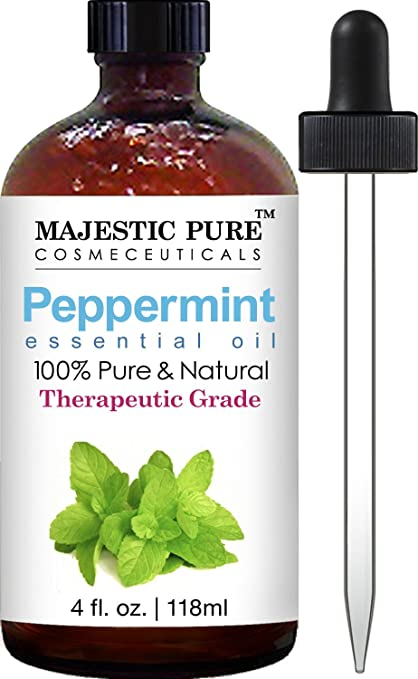 peppermint essential oil for hair growth